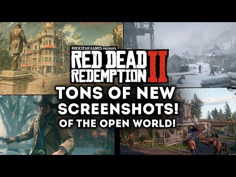 Red Dead Redemption 2 - TONS OF NEW IMAGES of the Open World! Towns, Cities! New Gameplay Images!