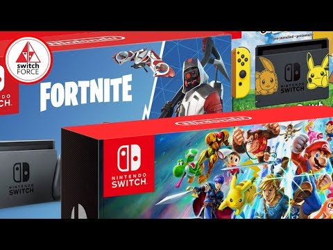 BEST SWITCH BUNDLE 2018?? New Fortnite Switch Bundle, Pokemon, Smash, and More!