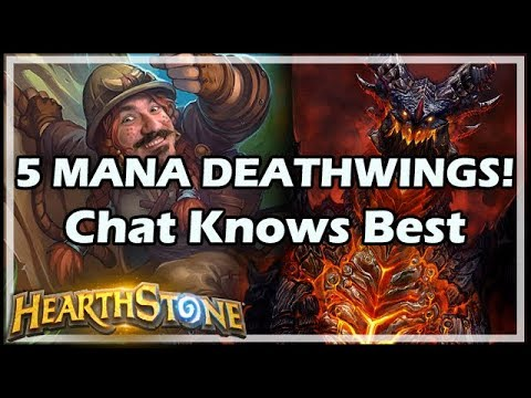 5 MANA DEATHWINGS! Chat Knows Best - Boomsday / Hearthstone