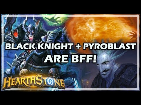 BLACK KNIGHT + PYROBLAST ARE BFF! - Boomsday / Hearthstone