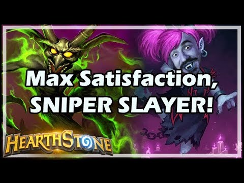 Max Satisfaction, SNIPER SLAYER! - Boomsday / Hearthstone