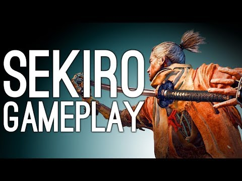 Sekiro Gameplay: SAMURAI GENERAL BOSS VS MIKE - Let's Play Sekiro Shadows Die Twice