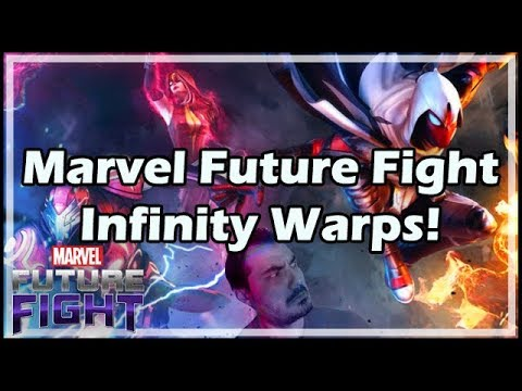 Marvel Future Fight Infinity Warps!