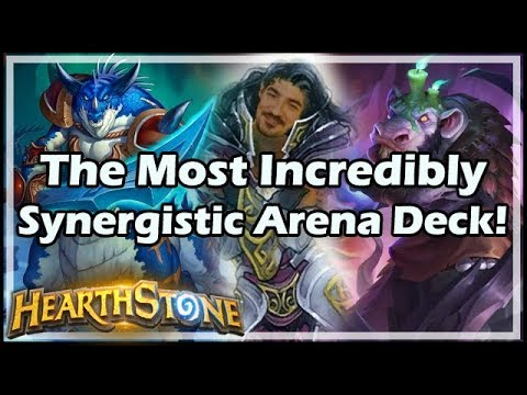 The Most Incredibly Synergistic Arena Deck! - Boomsday / Hearthstone