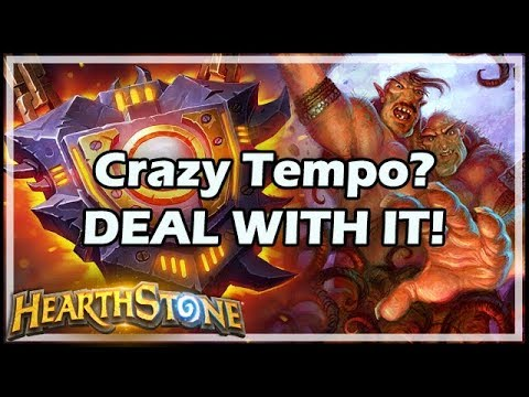 Crazy Tempo? DEAL WITH IT! - Boomsday / Hearthstone