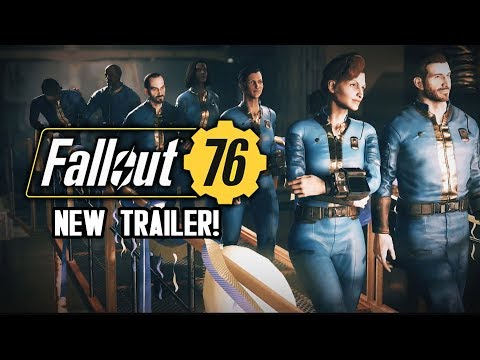 Fallout 76 - NEW OFFICIAL BETA TRAILER!  In-Game Intro Featuring Vault 76!