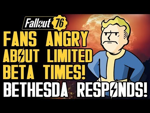 Fallout 76 - Players Are Angry About Beta and Daily Limited Times! New PVP Gameplay Details!