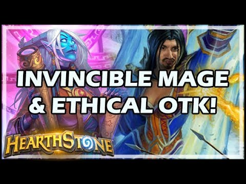 INVINCIBLE MAGE & ETHICAL OTK! - Boomsday / Hearthstone