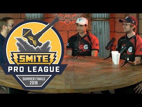 SMITE Summer Finals 2018 - NRG Interview