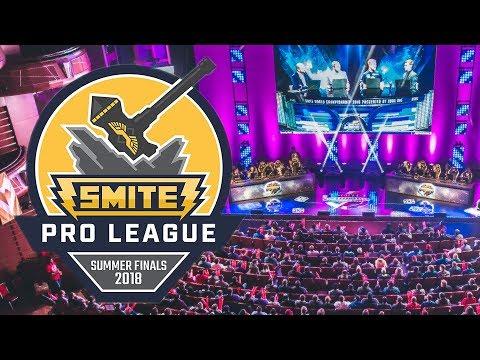 SMITE Summer Finals 2018 - Starts July 25 - 29