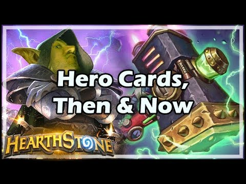 Hero Cards, Then & Now - Boomsday / Hearthstone
