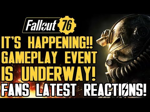 Fallout 76 - IT'S HAPPENING!! Gameplay Event is UNDER WAY RIGHT NOW! New Beta News Reactions!