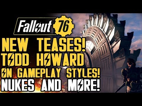 Fallout 76 - New Teases From the Event! Todd Howard on Ambushes! Nukes! Gameplay Event Update!
