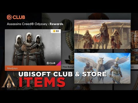 All Ubisoft Club and Store Items (All Weapons/Gears/Ships
