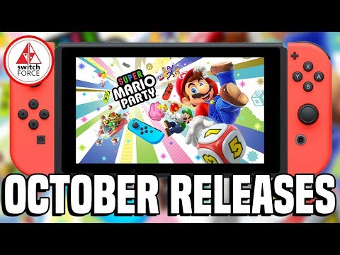 BIGGEST Nintendo Switch Games October 2018 - What To Buy + Release Dates!
