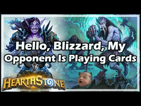 Hello, Blizzard, My Opponent Is Playing Cards - Boomsday / Hearthstone