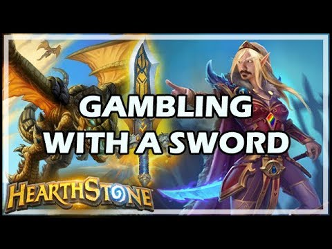 GAMBLING WITH A SWORD - Boomsday / Hearthstone