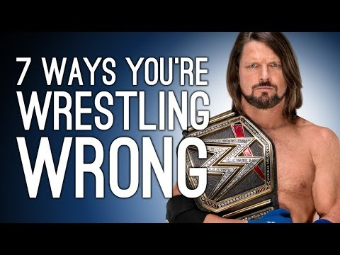 7 Ways You're Playing Wrestling Games Wrong (According To Actual Wrestlers)