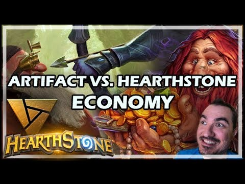 ARTIFACT VS. HEARTHSTONE ECONOMY