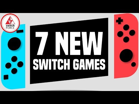 7 NEW Switch Games JUST ANNOUNCED! Finally Some Announcements!