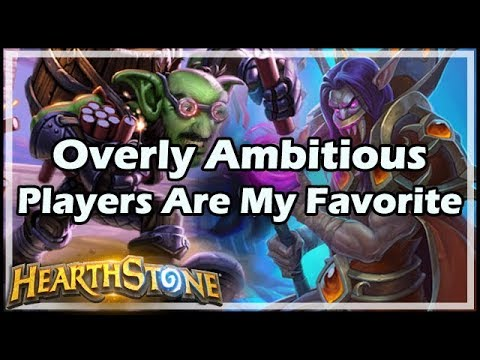 Overly Ambitious Players Are My Favorite - Boomsday / Hearthstone