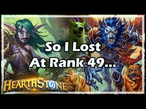 So I Lost At Rank 49... - Boomsday / Hearthstone