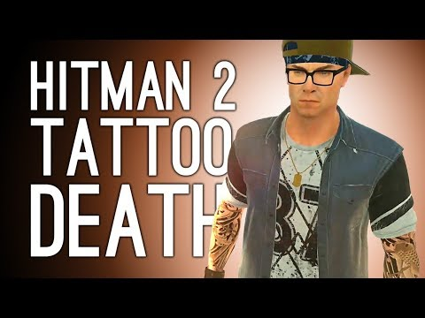 Hitman 2 Gameplay: TATTOO KILL and PIRANHAS in COLOMBIA - Let's Play Hitman 2