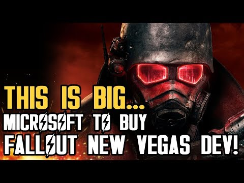 THIS IS BIG...Microsoft To Buy Fallout New Vegas Dev Obsidian Entertainment!