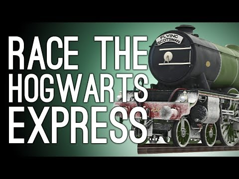 Forza Horizon 4 Edinburgh: RACE THE HOGWARTS EXPRESS - Let's Play Forza Horizon 4 Winter