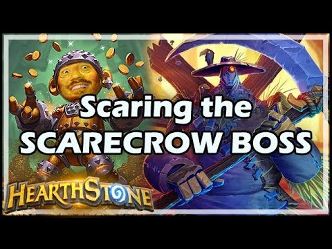 Scaring the SCARECROW BOSS - Boomsday / Hearthstone