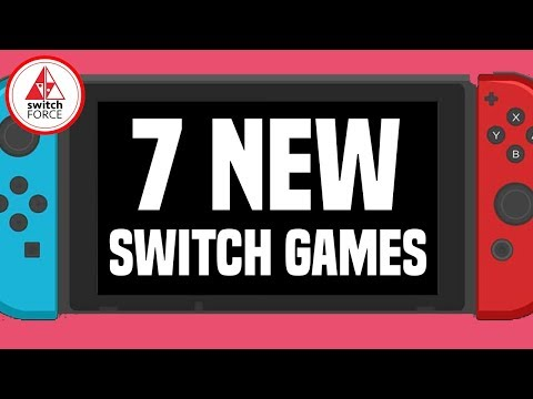 7 NEW Intriguing Switch Games JUST ANNOUNCED!