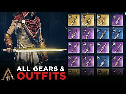 All Gears Outfits Assassin S Creed Odyssey