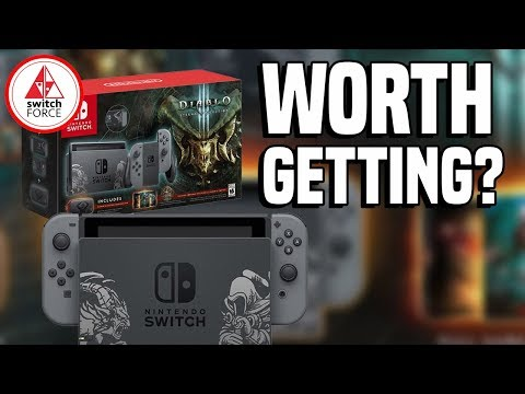 NEW Switch Console Bundle For Diablo 3 - TOO MANY BUNDLES?!