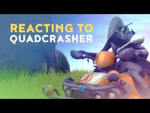 Dakotaz Reacting To New Quadcrasher Fortnite Battle Royale Dakotaz