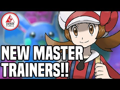 NEW Master Trainers in Pokemon Let's Go Pikachu! Post-Game Reveal!