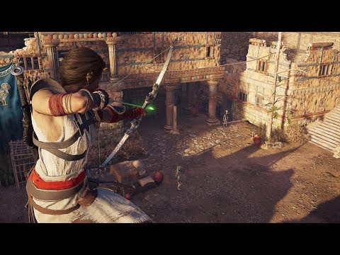 Assassin's Creed Odyssey Stealth Assassin Build - Cultist Assassination & Fort Clearing Gameplay