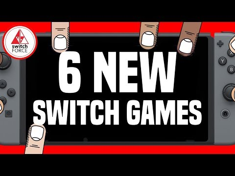 6 Different NEW Switch Games JUST ANNOUNCED!