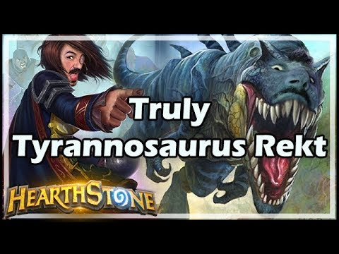 Truly Tyrannosaurus Rekt - Boomsday / Hearthstone