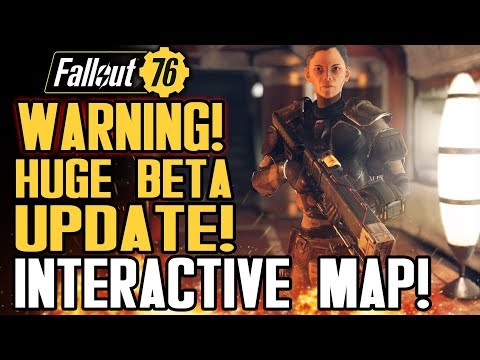 Fallout 76 - WARNING: Before You Play The Beta, You Need To Do This! New Map! Faction Reveal!