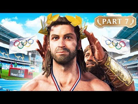 ASSASSIN OLYMPICS!! (Assassin's Creed Odyssey, Part 7)