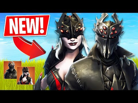 *NEW* Legendary Spider Knight & Spider Queen Skins!! (Fortnite Live Gameplay)