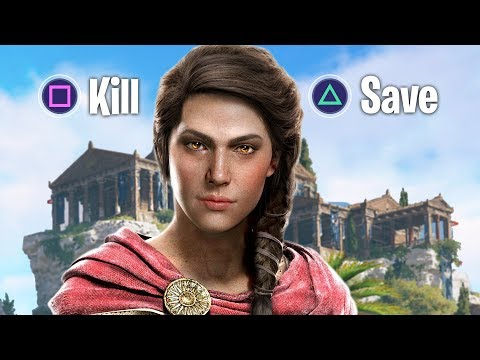 WHO LIVES AND WHO DIES?! (Assassin's Creed Odyssey, Final Boss Fight Ending)