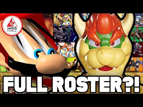 DLC CHARACTERS FOR SMASH BROS. ULTIMATE REVEALED?! [RUMOR]