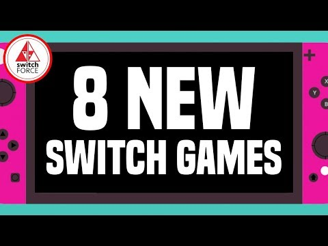 8 SURPRISING NEW Switch Games JUST ANNOUNCED!