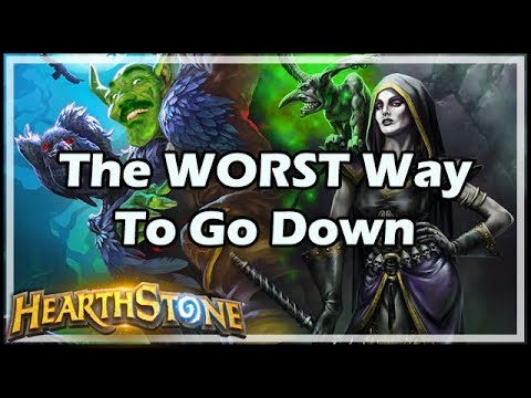 The WORST Way To Go Down - Boomsday / Hearthstone