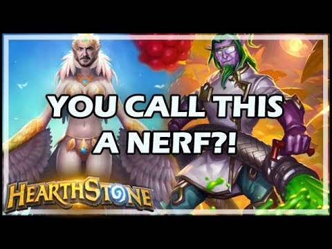 YOU CALL THIS A NERF?! - Boomsday / Hearthstone