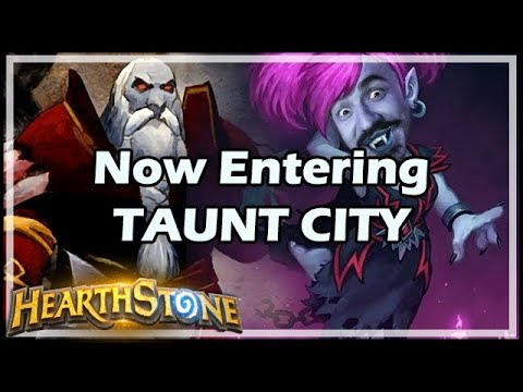 Now Entering TAUNT CITY - Boomsday / Hearthstone