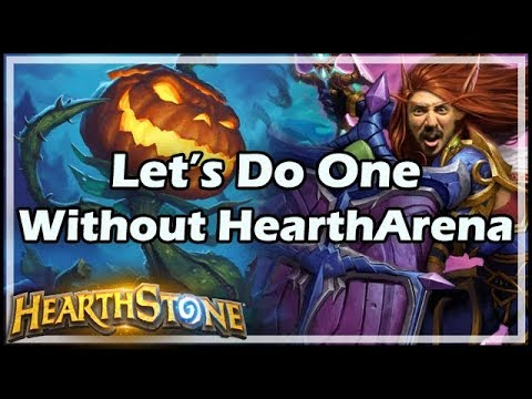 Let's Do One Without HearthArena - Boomsday / Hearthstone