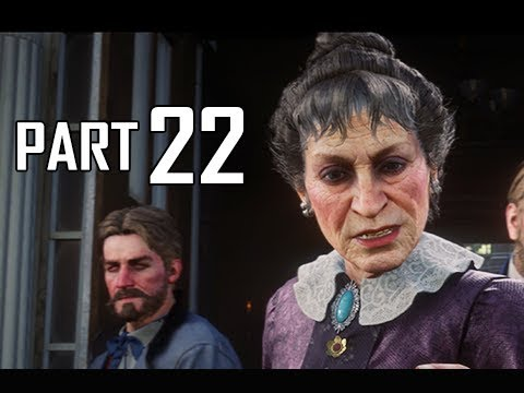 Red Dead Redemption 2 Walkthrough Gameplay Part 22 - Lady Braithwaite (RDR2 Let's Play)
