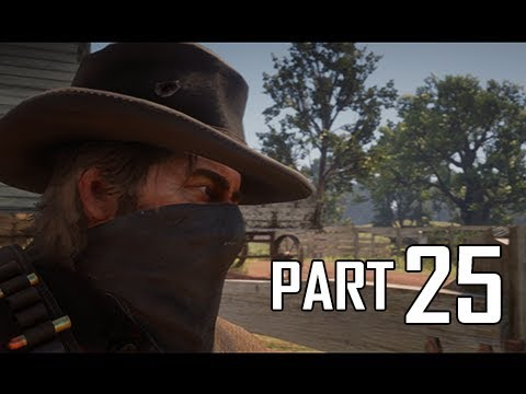 Red Dead Redemption 2 Walkthrough Gameplay Part 25 - Horse Napping (RDR2 Let's Play)